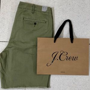 """J Crew Distressed Officer's Short 9"""" - Size 33"""